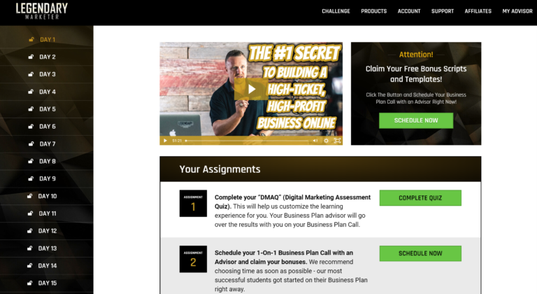15 DAY ONLINE BUSINESS BUILDER CHALLENGE REVIEW