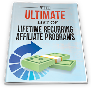 Ultimate lifetime affiliate programs