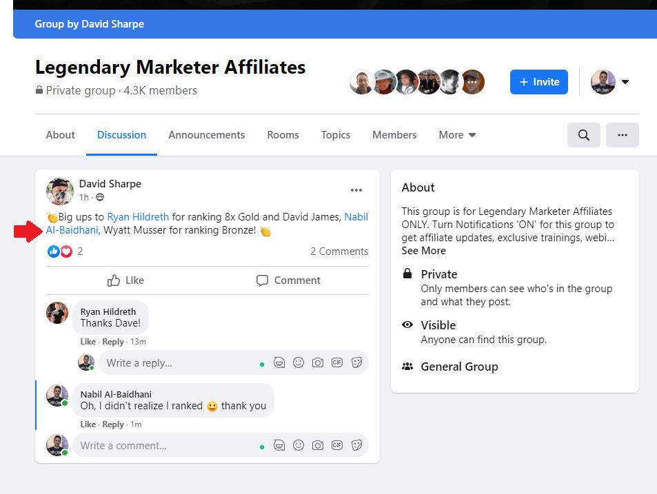 Legendary Marketer Ranking